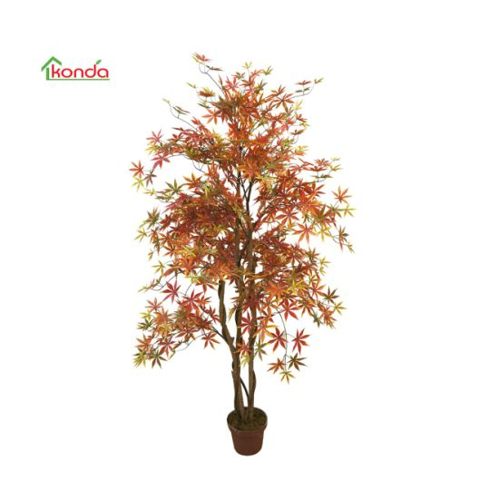 China Supplier Wholesale New Maple Tree Furniture Artificial Green Plant