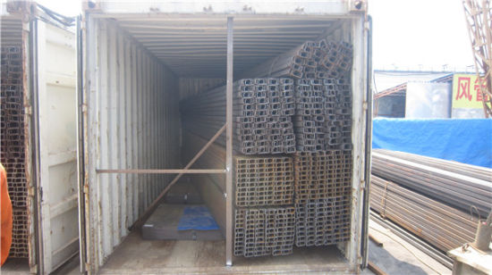 Hot Sale High Quality Steel Structural C Channel, C Purlin Steel pictures & photos
