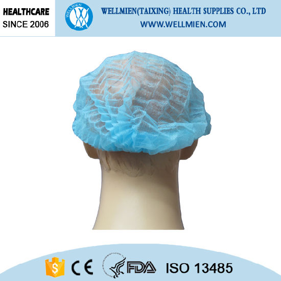 High Quality Disposable Nonwoven Nurse Cap pictures & photos