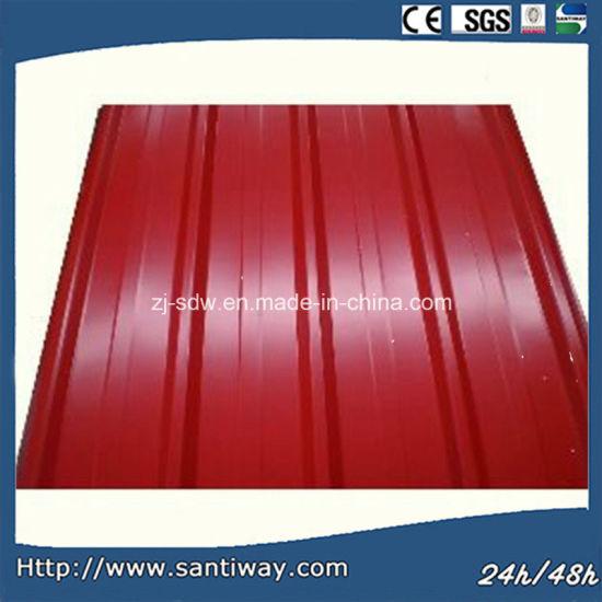 Corrugated Steel Roofing Sheet Tile