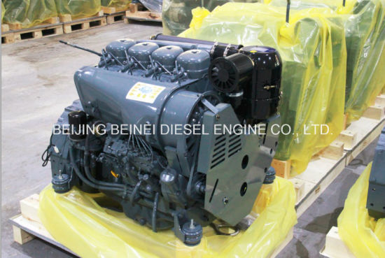 Air Cooled Diesel Engine F4l912 4-Stroke Air-Cooled Diesel Engine for Construction Equipment pictures & photos