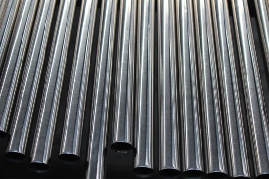 201 Round Stainless Steel Pipe and Tube pictures & photos