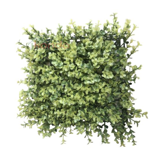 Artificial Green Grass Wall Panel Backdrop for Garden Wedding Decor