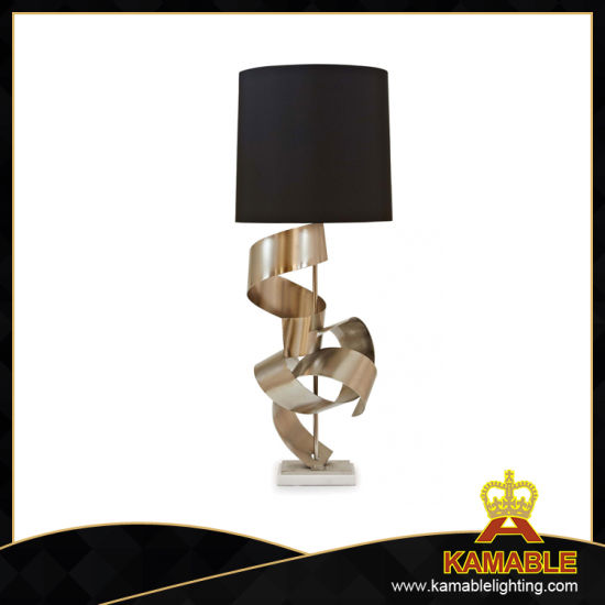 Project Marble Base Stainless Steel Bedside Table Light (MT0001)