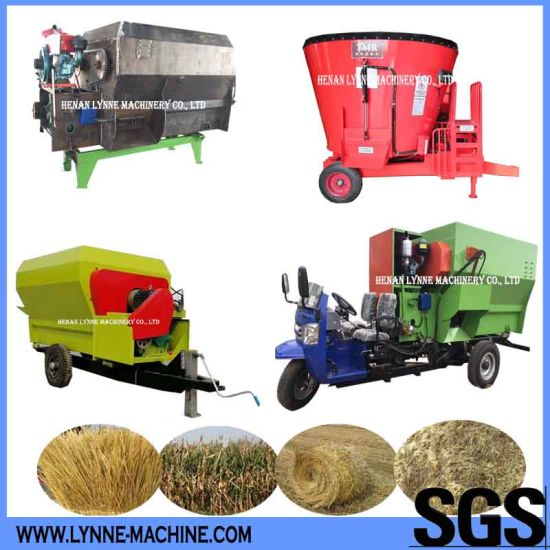 Animal Poultry Feed Making Equipment with Rice Straw/Silage/Corn Stalks