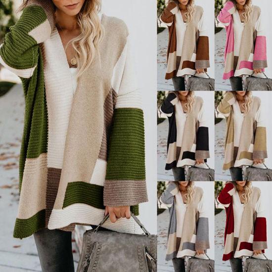 Women's Cardigan Fashion Oversize Long Style Sweater