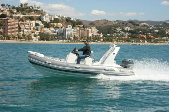 China Liya 17feet Custom Military Rib Boats Hard Bottom Inflatable