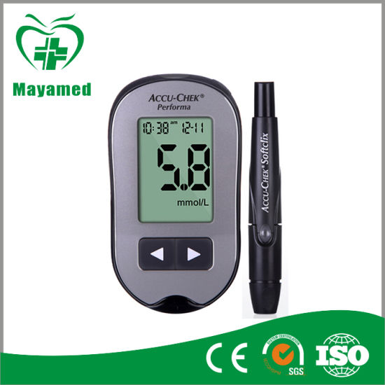 New Arrival Portable Professional Digital Bluetooth Automatic Blood Glucose Meter Glucometer Brands with Glucometer Strips pictures & photos