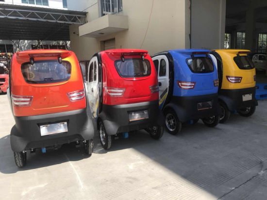 Chinese 35km/H Adult 4 Wheeler Electric Mini Smart Car