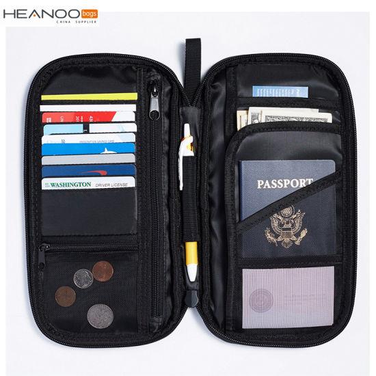 b74484d06a19 China Travel Wallet Organizer Passport Holder for Passports Credit ...