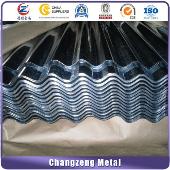 Hot DIP Corrugated Roofing Plate (CZ-C09) pictures & photos
