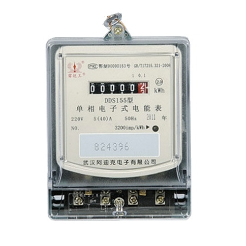 Customized Single Phase Electronic Kwh Meter with IEC62053-21 pictures & photos