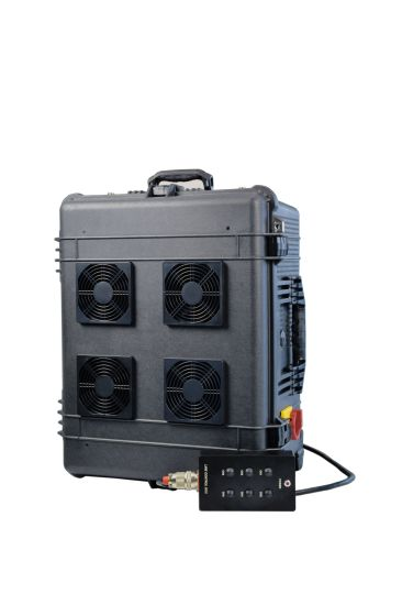 Built-in Battery DC27V vehicle Use Draw Bar Box Pelican High Power 6 Channels Signal Jammer pictures & photos