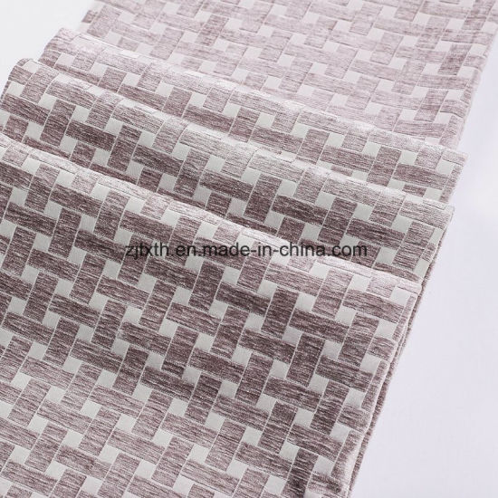 2018 China Supplier Comfortable Soft Chenille Sofa Upholstery Fabric Wholesale