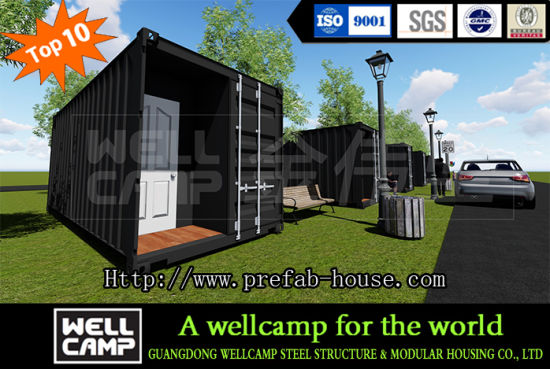 Wellc& Fully Equipped Modular Shipping Container House / Container Home