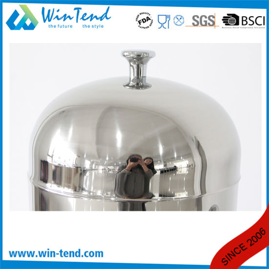 Classic Commercial Hotel Stainless Steel Single Head Milk Dispenser with Handle pictures & photos