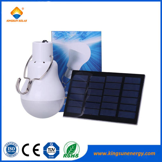 China Portable LED Solar Lamp Solar Power Light Bulb - China Solar