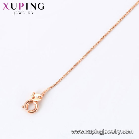 44199 Xuping Fashion 24K Gold Color Necklace pictures & photos