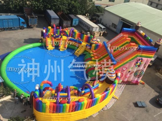 Professional Customized mobile Amusement Park for Commerce pictures & photos