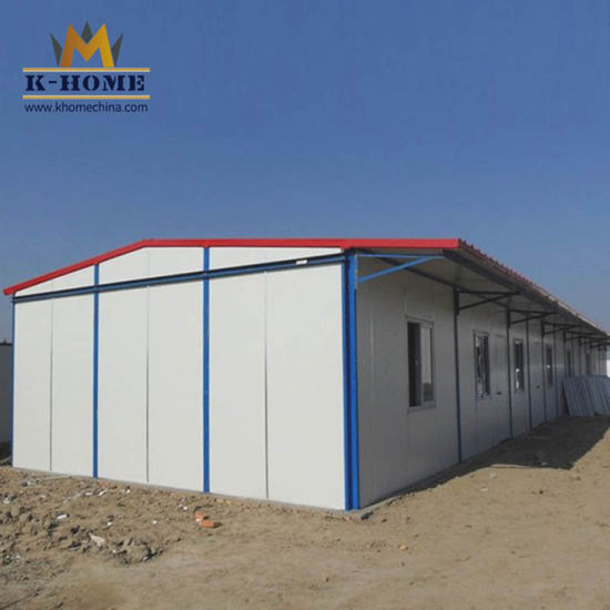 Fireproof Sandwich Panel House on Construction Site