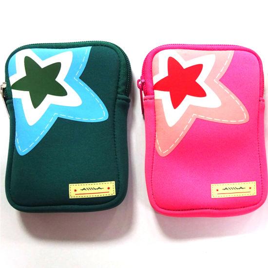 Real Neoprene Not Fake Portable Neoprene Camera Bag with Zipper