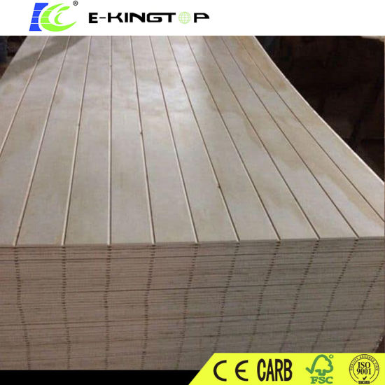 Sloted Plywood, Grooved MDF, Laminated Board