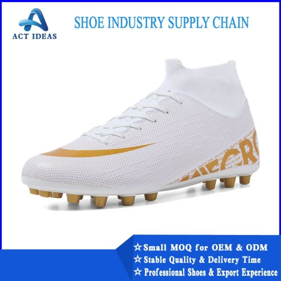 China 2019 New Design Custom Brand Name Style Football Shoes For Men China Custom Brand Shoes And Football Shoes Price