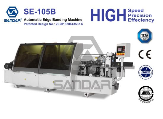 Automatic Woodworking Edge Banding and Sealing Machine