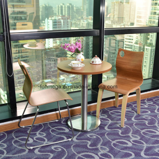 China Stainless Steel Restaurant Dining Furniture Table