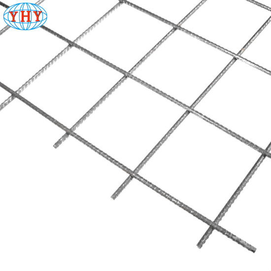 China 6X6 Concrete Reinforcing Welded Wire Mesh Deformed Bar Steel ...