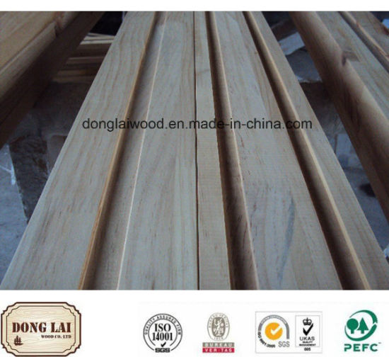 China Custom Wood Composite White Primed Wooden High Quality