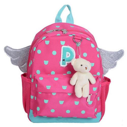 Child Backpack Primary Cute Students School Cartoon Kids Bag