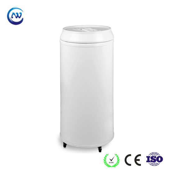 Round Barrel Shape Commercial Energy Drink Cooler (BC-40D)