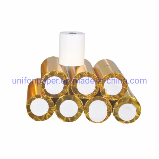 BPA Free 57mm 80mm Re-Printing Thermal Till Rolls Paper 65GSM