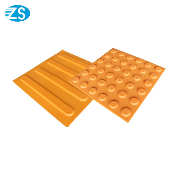 Warnning Anti-Slip PVC/TPU Rubber Tactile Tile pictures & photos