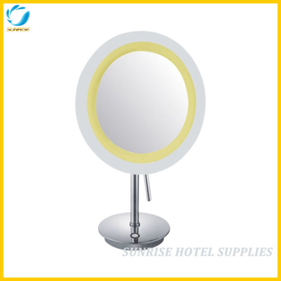 Desktop LED Make up Mirror for Hotel
