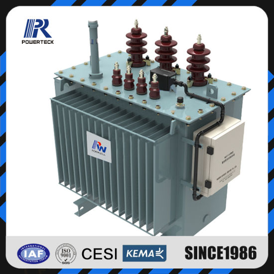 Three Phase Oil Immersed Step up Power Distribution Transformer