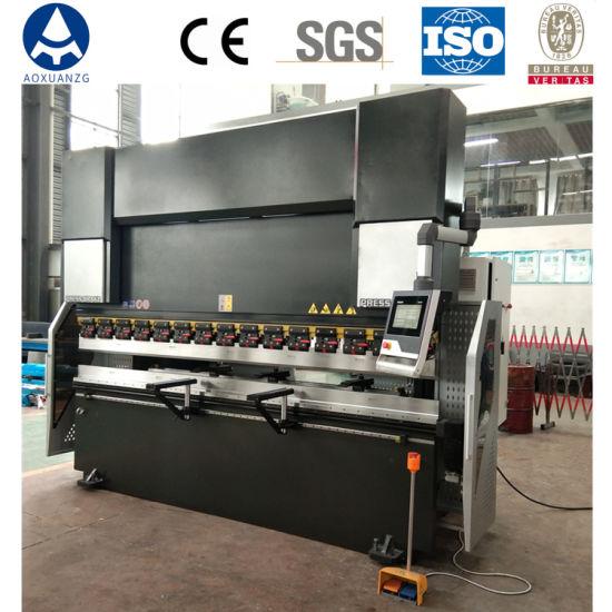 CNC Sheet Metal Press Brake, 4+1 Axis Hydraulic CNC Press Brake, Small CNC Hydraulic Press Brake
