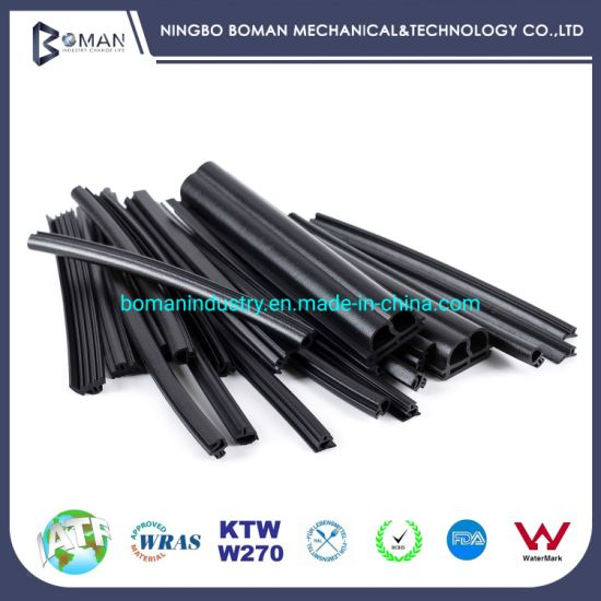 EPDM Door Seal Extrusion Cord Rubber Strip with UL Certificated