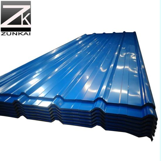 Color Coated Metal Roofing Sheet Galvanized Corrugated Steel Sheet Roofing Plate