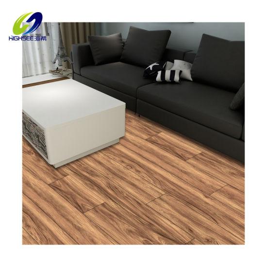 China Modern Bathroom Plastic Tiles Spc, Rubber Laminate Flooring For Bathroom