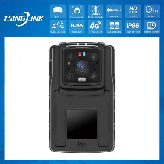 IR Laser IP68 Law Enforcement Video Recorder Light Weight Police Mini Body Camera
