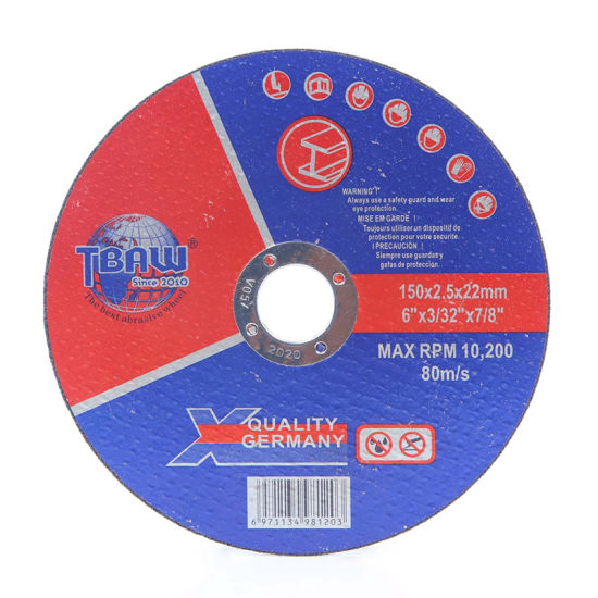 Factory 6 Inch Grinding Wheel Abrasive Cutting Wheels