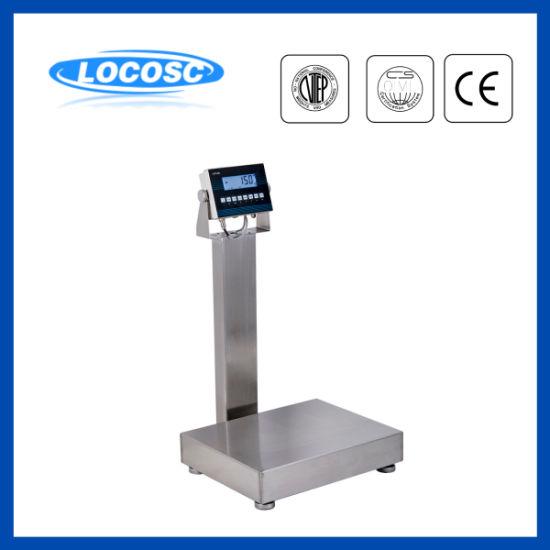 100kg 150kg IP68 Waterproof Digital Platform Scale with Counting Function