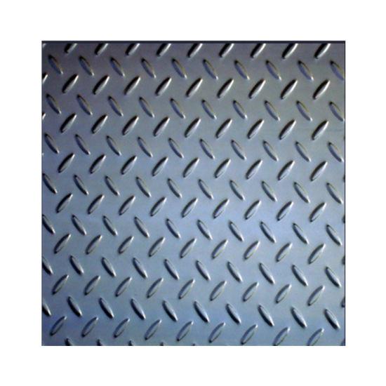 Chequered Tread Checker Floor Sheet Mild Steel Checkered Plate