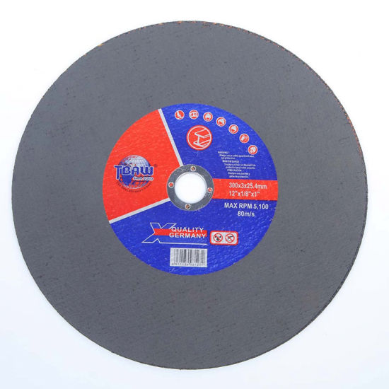 China Factory 300 mm Big Size Durable Abrasive Metal Cutting Wheel