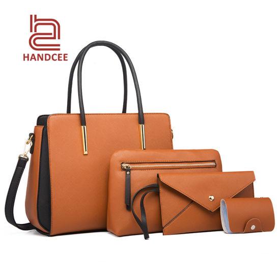 Fashion Wholesale Market Lady Luxury Women Ladies Purse Handbag Designer Brand PU Leather Crossbody Shoulder Woman Top Quality Female Used Tote Messenger Bag