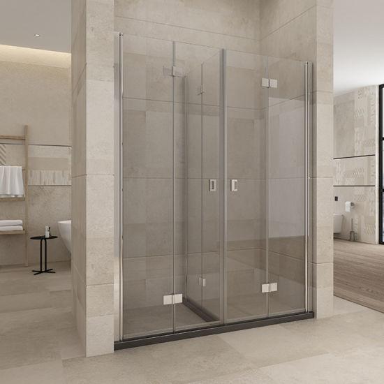 European Style Hinge Pivot Shower Door with CE Certificate