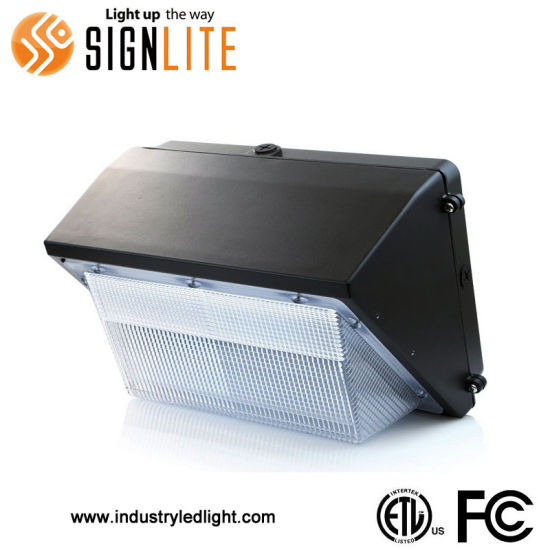 Outdoor Use 100W LED Wallpack Light with ETL FCC