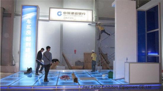 Exhibition Booth Flooring : China led exhibition lighting floor platform system china